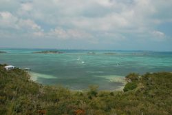 View from Hope Town lighthouse