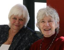 Maureen Schwind and Rita Mills