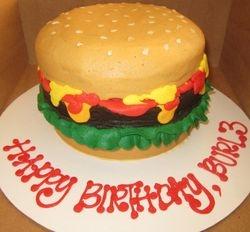 Hamburger Birthday