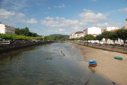 The river running through Cediera to the sea