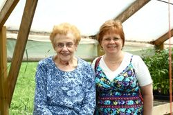 Aunt Dolly and me