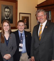 Meeting at Capitol Hill with Rep. Hultgren