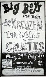 1983-08-29 Irene J's, Milwaukee, WI