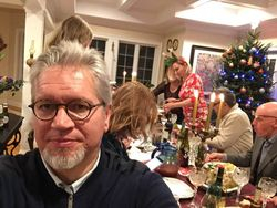 Christmas Party in Danbury, CT, 2018.