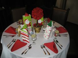 Christmas party luncheon