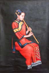 Playing Flute, 2012