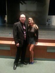 Denny with Emma Slater