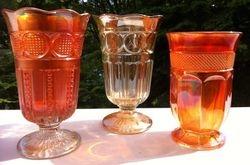 Celery Vases - Fine Cut Rings /  Variant & Nutmeg Grater