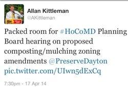 Sen Kittleman attending hearing
