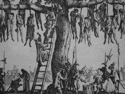 Callot, Miseries of War, detail