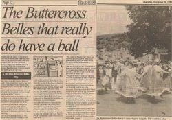 The Buttercross Belles that really do have a ball