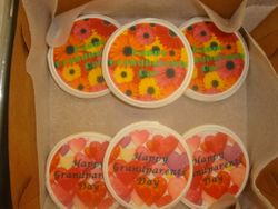 photo decal cookies $3 each