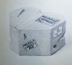 Heart Shaped Box (return to sender)