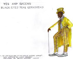 Yes and Greens Black-eyed Peas Cornbread