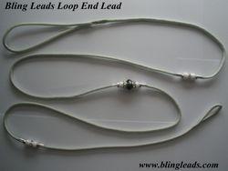 Silver loop end lead!