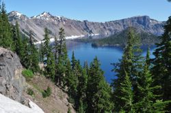 Crater Lake, Morning 1