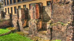 Part of the old London Wall