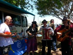 Gold Coast Bonjour French festival on 23/11/14
