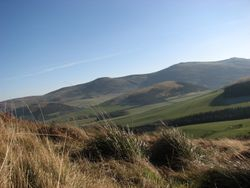views over cheviot hills
