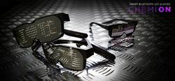 LED Customizable Bluetooth Glasses