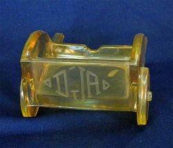 Miniature hand cart novelty - marigold(front)