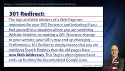 301 Redirect - Real Estate SEO Short Definition