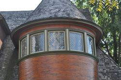 Detail 1, Frank Lloyd Wright Designed Home, Oak Park