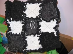 SOLD - EXAMPLE OF Large Size 9 Square Bag