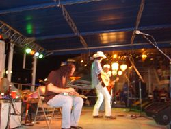 ON STAGE AT THE LANDING