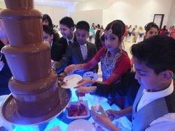 Chocolate fountain hire muslim weddings