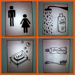 Danielson's Bathroom (Detailed View)