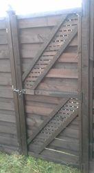 Wooden Gate (3' x 6')