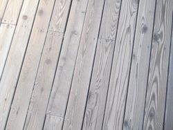 Wood Deck Floor  Staining