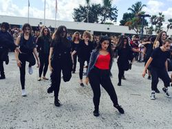 Flash Mob -10/7/2015