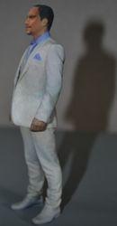 Figurine marié 15 cm