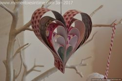 Paper Strip Heart