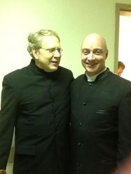 After Concert with Shlomo Mintz