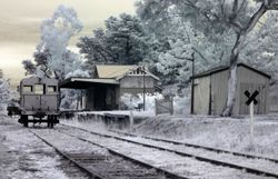 Yarra Glen historic train station