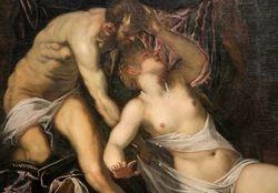Tintoretto, Rape of Lucretia, c. 1580, Chicago