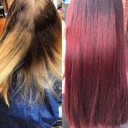 COLOR CORRECTION - Ruby Red