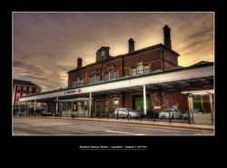 Blackburn Railway Station - Lancashire - England