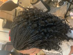 Micro Braids completed in Leesburg, VA