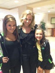 Ms Stella with Megan & Maggie