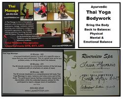 Thai Yoga Bodywork & Massage