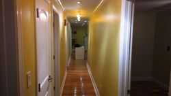 Hallway View From the Opposite Side of The Home