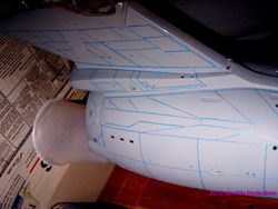 Masking the Engineering Hull 006