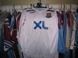 2007/08 away worn Freddie Ljungberg