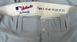 Albert Pujols 2007 Game Used Uniform Pants