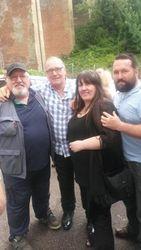Alan Kilby, Marty Jones, Tracey Kilby & Adam Kilby