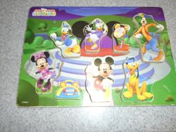 Mickey Mouse Clubhouse Wooden Chunky Puzzle - $7